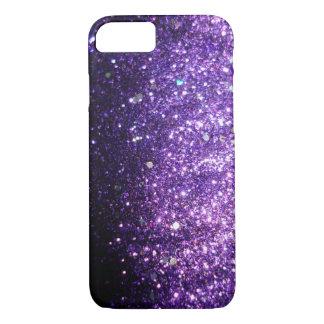 Violet Purple iPhone Sparkle Glitter Case