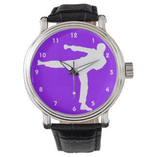 Violet Purple Martial Arts Watch