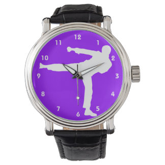 Violet Purple Martial Arts Wristwatches