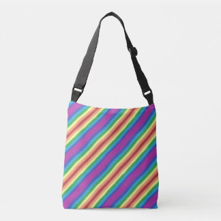 Violet Rainbow Crossbody Bag