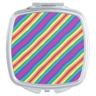 Violet Rainbow Mirrors For Makeup
