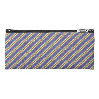 Violet Rainbow Pencil Case