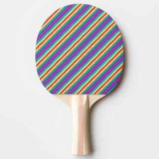 Violet Rainbow Ping-Pong Paddle