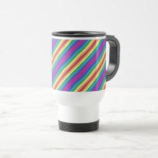 Violet Rainbow Travel Mug