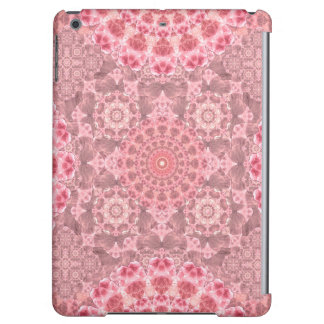 Violet Relief Pattern Mandala iPad Air Cover