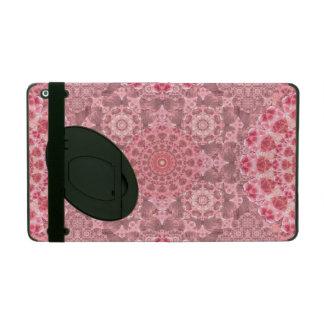 Violet Relief Pattern Mandala iPad Case