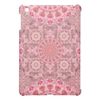 Violet Relief Pattern Mandala iPad Mini Cases