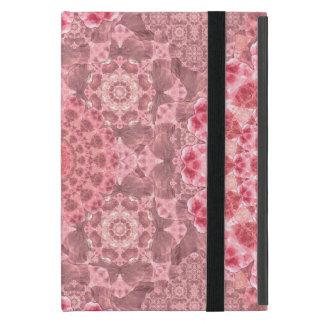 Violet Relief Pattern Mandala iPad Mini Covers