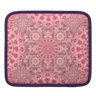 Violet Relief Pattern Sleeve For iPads