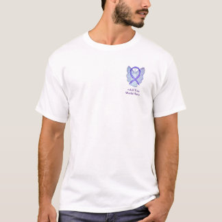 Violet Ribbon Angel Cause Awareness Custom Shirts