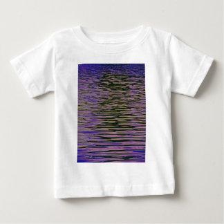 Violet Ripples Baby T-Shirt