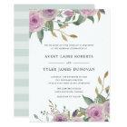 Violet & Sage Wedding Invitation