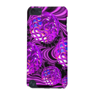 Violet Sea Dance Abstract Purple Bubbles iPod Touch 5G Cases
