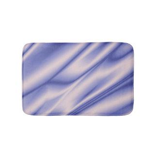 Violet silk texture. bath mat