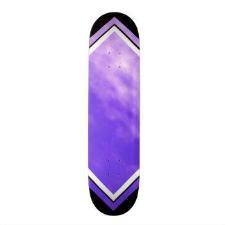 Violet Skies Clouds Purple Black Customizable Deck Skateboard Decks