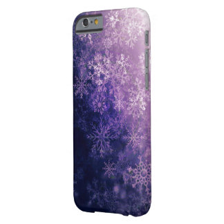 Violet Snowflake Personalized Case