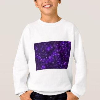 Violet Snowflakes Sweatshirt