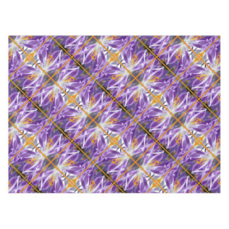 Violet spring crocus 01.o.P.02 Tablecloth