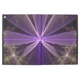 Violet Star Flower Abstract Fractal