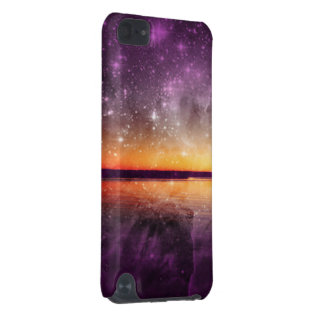 Violet Stars And Sunset Lake iPod Touch 5G Case
