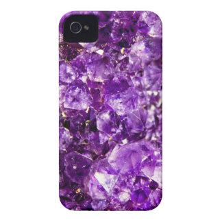 Violet Stone iPhone 4 Case-Mate Case