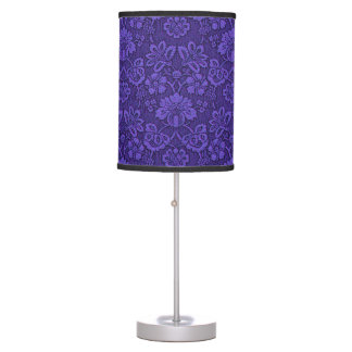 Violet texture table lamp