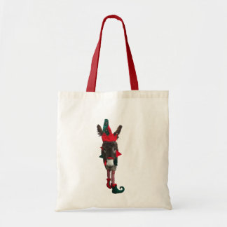 Violet the Elf DonkeyTote Bag