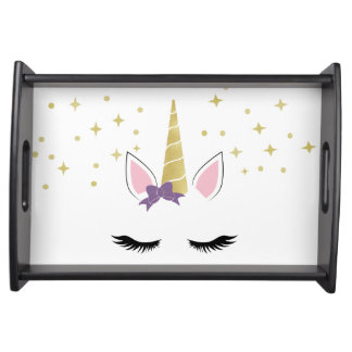 Violet the Unicorn Serving Tray