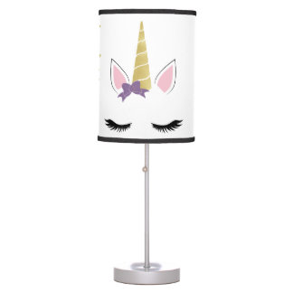 Violet the Unicorn Table Lamp