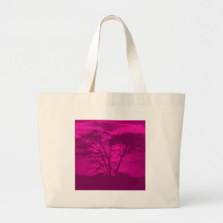 violet tree large tote bag