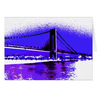 Violet Verrazano Bridge card