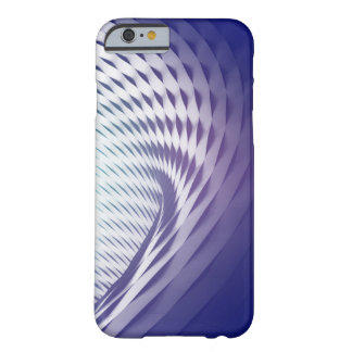 Violet Wave Abstract Iphone Case