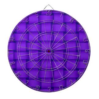 Violet wicker art graphic design dartboard