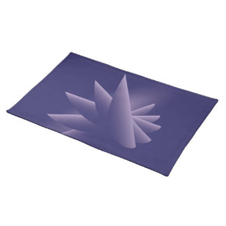 Violet wings placemat