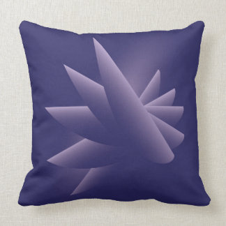 Violet wings throw pillow