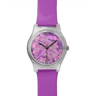 Violet Woodland abstract, Lavender, Mauve, Purple Watch