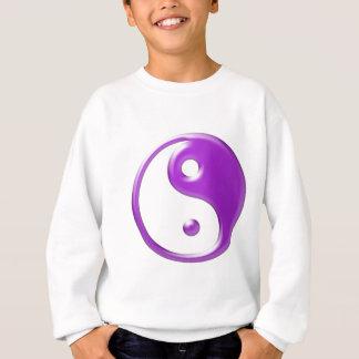 Violet Yin Yang Sweatshirt