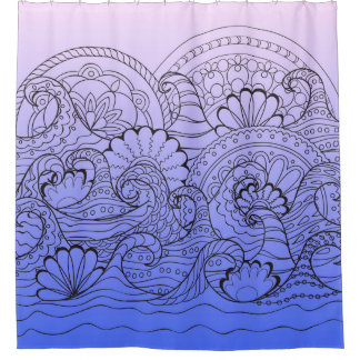 violet zen waves