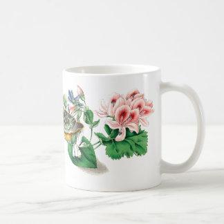 Violets Floral Botanical Flowers Mug