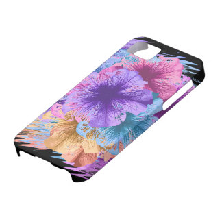 Violets Gone Wild iPhone 5 Cases
