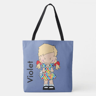 Violets Personalized Gifts Tote Bag