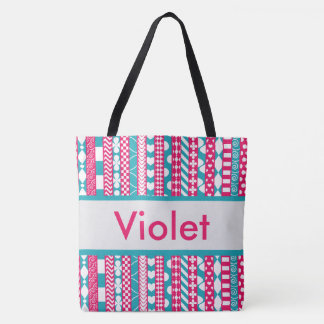 Violet's Personalized Tote