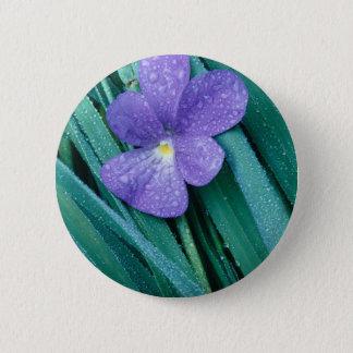 Violets R Blue 2 Inch Round Button