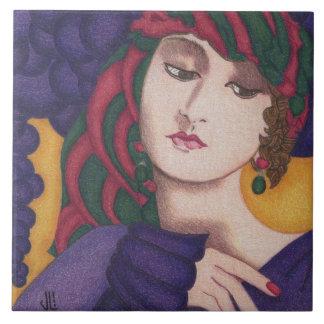 Violetta Napierska Image on Ceramic Tile