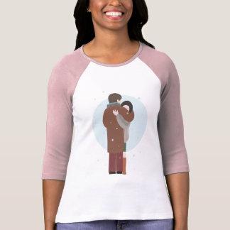 Violetta's embrace ~ 3/4 Sleeve Raglan T-Shirt