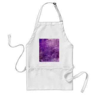 Violette abstraite tablier