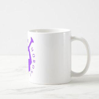 Violette de tasse de Moroni d'ange