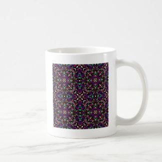 violette florale de motif mug