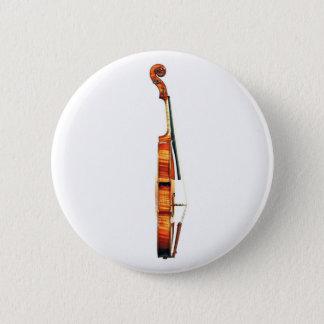 Violin 2 Inch Round Button