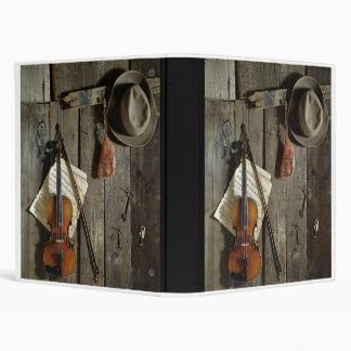 Violin 3 Ring Binder